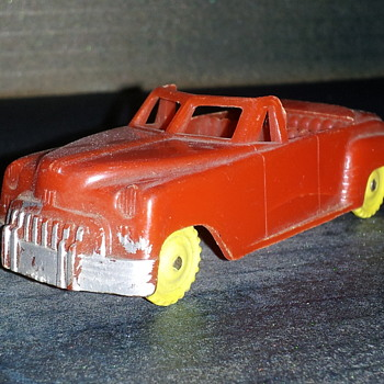 Cheerio Toys England Plastic Convertible - Model Cars