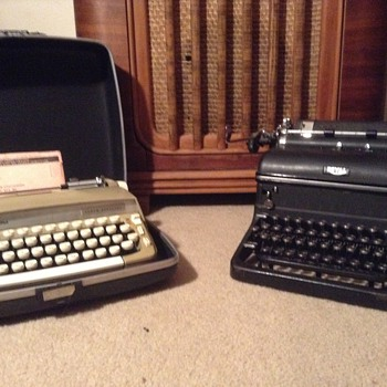My vintage typewriters