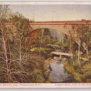 Cabin John Bridge, near Washington DC - Postcards