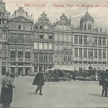 3. BRUXELLES. – GRANDE PLACE ET MAISONS DES CORPORATIONS. - Postcards