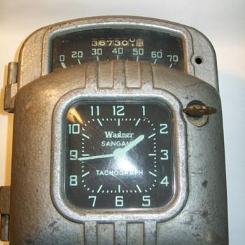 Sangamo Tachograph - Clocks