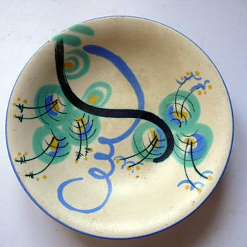 HAËL - Heymann & Loebenstein footed bowl - Pottery