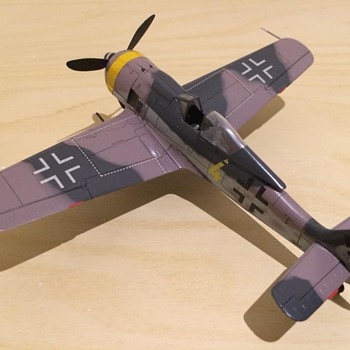 1/72 Scale Fw190 Butcher Bird - Toys