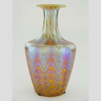 Four Small Loetz Vases - Art Glass
