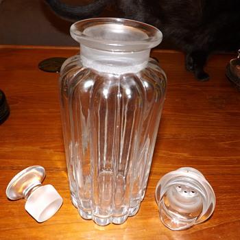 My Crystolite cocktail jug - Art Deco