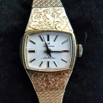 1957 Hamilton Electric Watch - Wristwatches