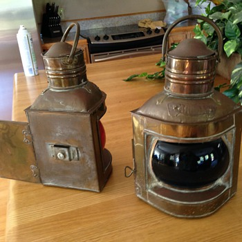 Oil Lamps,  boat or caboose?