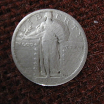 1918 standing liberty - US Coins