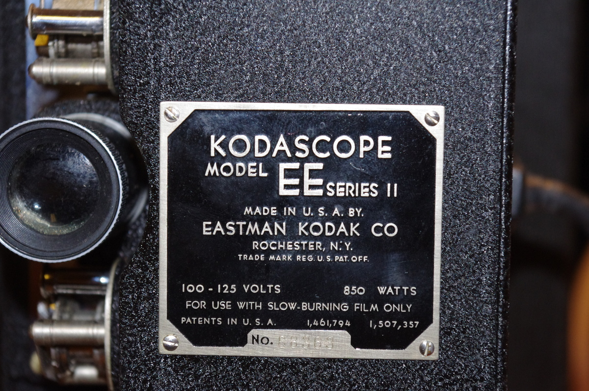 My FIRST auction purchase: Kodascope EE 16mm projector
