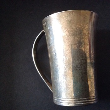Small silver cup