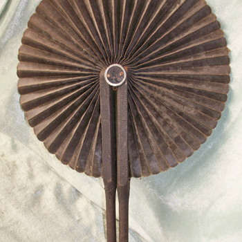 Fan With Handles That Hook Closed - Accessories