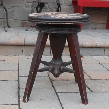 New York Piano Stool and Manufacturing Company Piano Stool - Furniture