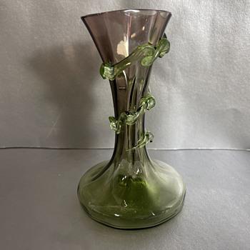 Mini Hand Blown Vase  - Art Glass