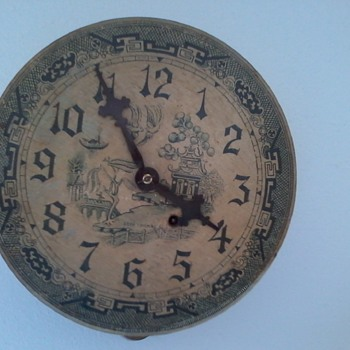 Seth thomas clock found at a garage sale. - Clocks