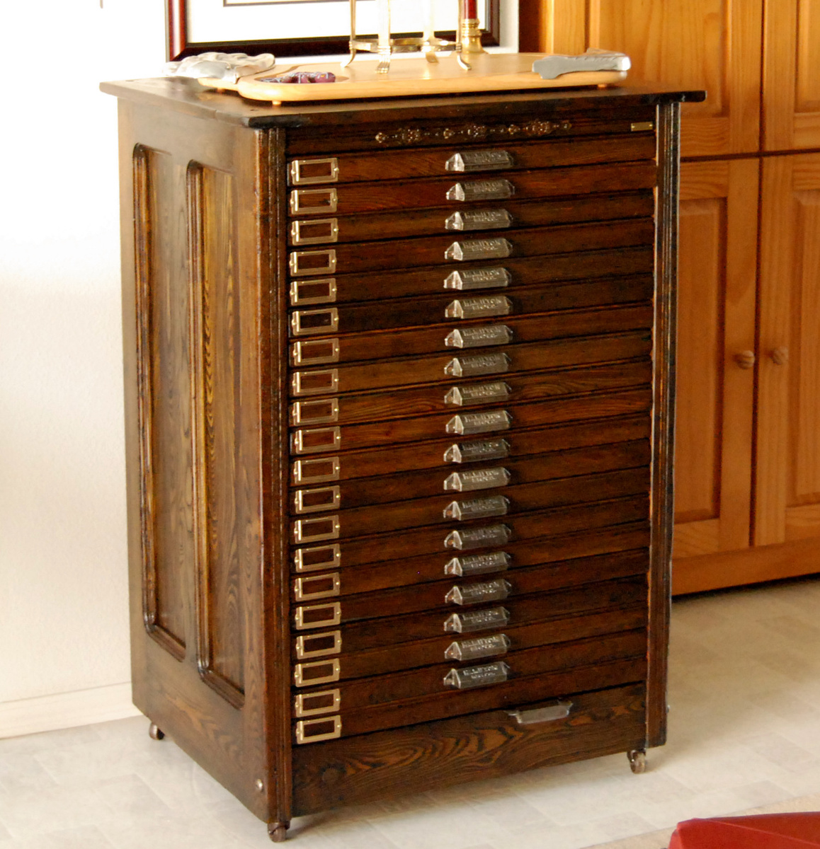 Vintage Printers Cabinet | MF Cabinets