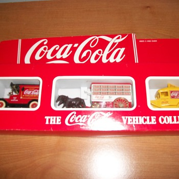 Coca-Cola Vehicle Collection - Three Different Vehicles - Coca-Cola