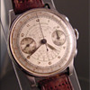 1940's Omega 2-Register Chronograph Wristwatch