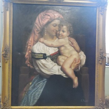 La Romana by C. (Carlo) Rossini - Fine Art