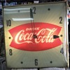 Vintage Fish-Tail Coca-Cola Wall Clock and a couple more of my Clock collections