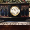 Sessions Black Mantel Clock