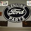 Original Ford Dealer Sign