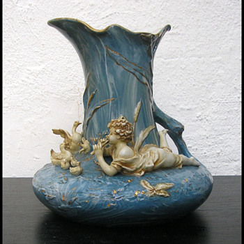 Austrian 1900 vase /pitcher  - Art Nouveau