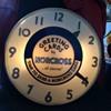Big time advertising clock