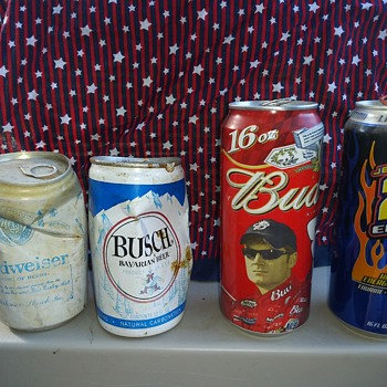 Old bottle and cans - Bottles