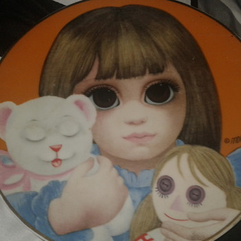 "MARGARET KEANE    THE THIRD LIMITED EDITION   1978 ""BEDTIME"" Decorative Plate - China and Dinnerware"