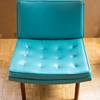 Need Help - Turquoise Vinyl Chair