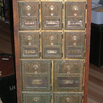 Old Post Office Boxes  - Office