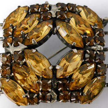 Spectacular Dany Pollak Sterling Brooch - Fine Jewelry