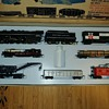 Marx Hudson set sold by Sears as its Allstate line of trains set #9941