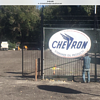 Chevron Neon Porcelain Sign