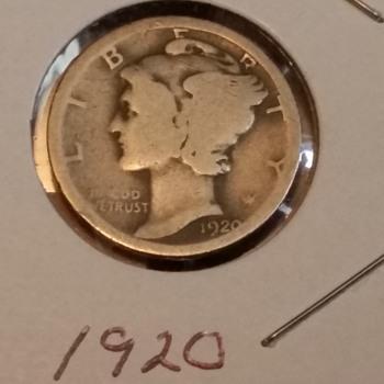 Mercury Dimes  - US Coins