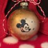 1950? Disney Mickey Christmas Ornament