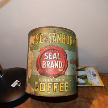 Coffee tin found in old mine