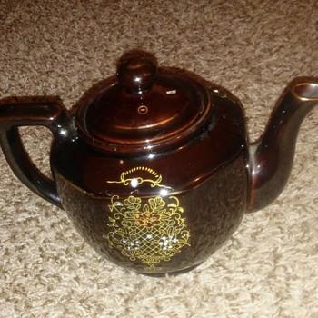 Japanese ? teapot & trinket dish - Kitchen