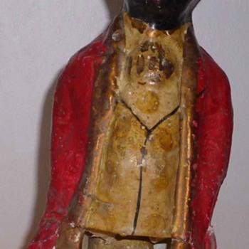 antebellum black memorabilia,painted papier maché  - Figurines
