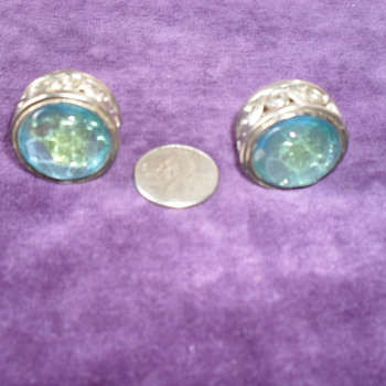 Big Chunky Earrings - Costume Jewelry