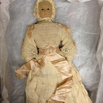 London Baby Rag Doll (name via Mani) - Dolls
