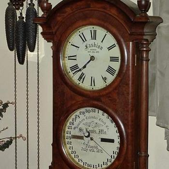 Southern Calendar Clock Co. Fashion Model No. 1 - Clocks