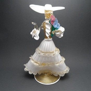 Murano Venetian Lady Dancer - Art Glass