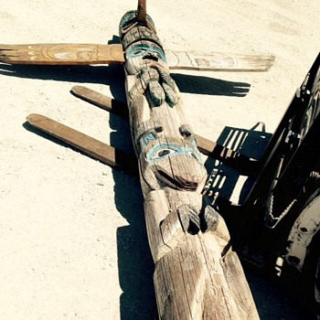 Awesome Totem Pole barn find