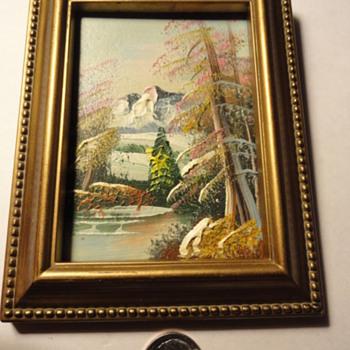 Mini Oil Painting