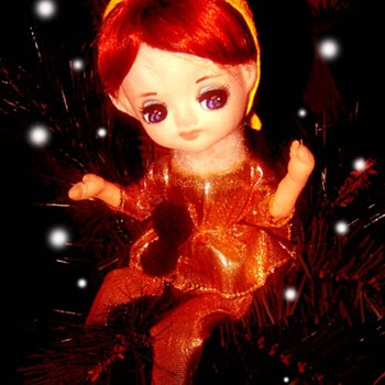 Vintage Bradley Doll - Happy Christmas! - Dolls