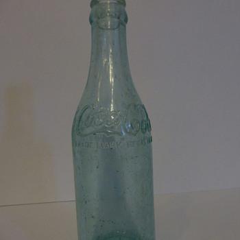 Rare 1906 Hamilton, Ont. Coca-Cola Bottle
