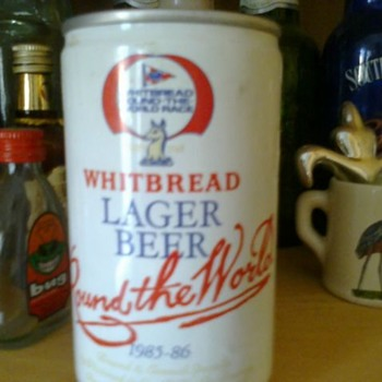 Round the World Whitbread Lager Beer 1985-86 - Breweriana
