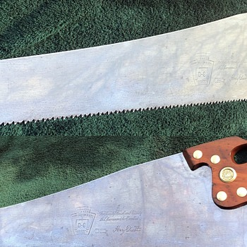 Restored Henry Disston D-8 Hand Saw. - Tools and Hardware
