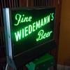Neon Wiedemann's Beer Sign
